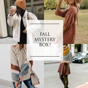 5🌟 SELLER 3 PIECE FALL BOUTIQUE MYSTERY BOX! 🍁
